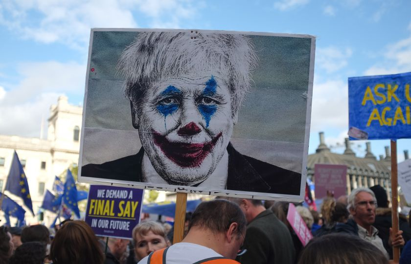 Demonstrace proti Brexitu v Londýně. Foto: Jannes Van den wouwer, Unplash