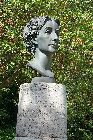 Busta Cosimy Wagnerové. Foto: Petr Feyfar