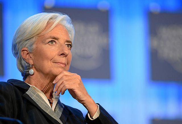 Christine Lagardeová. Foto: Světové ekonomické fórum. CC BY-SA 2.0