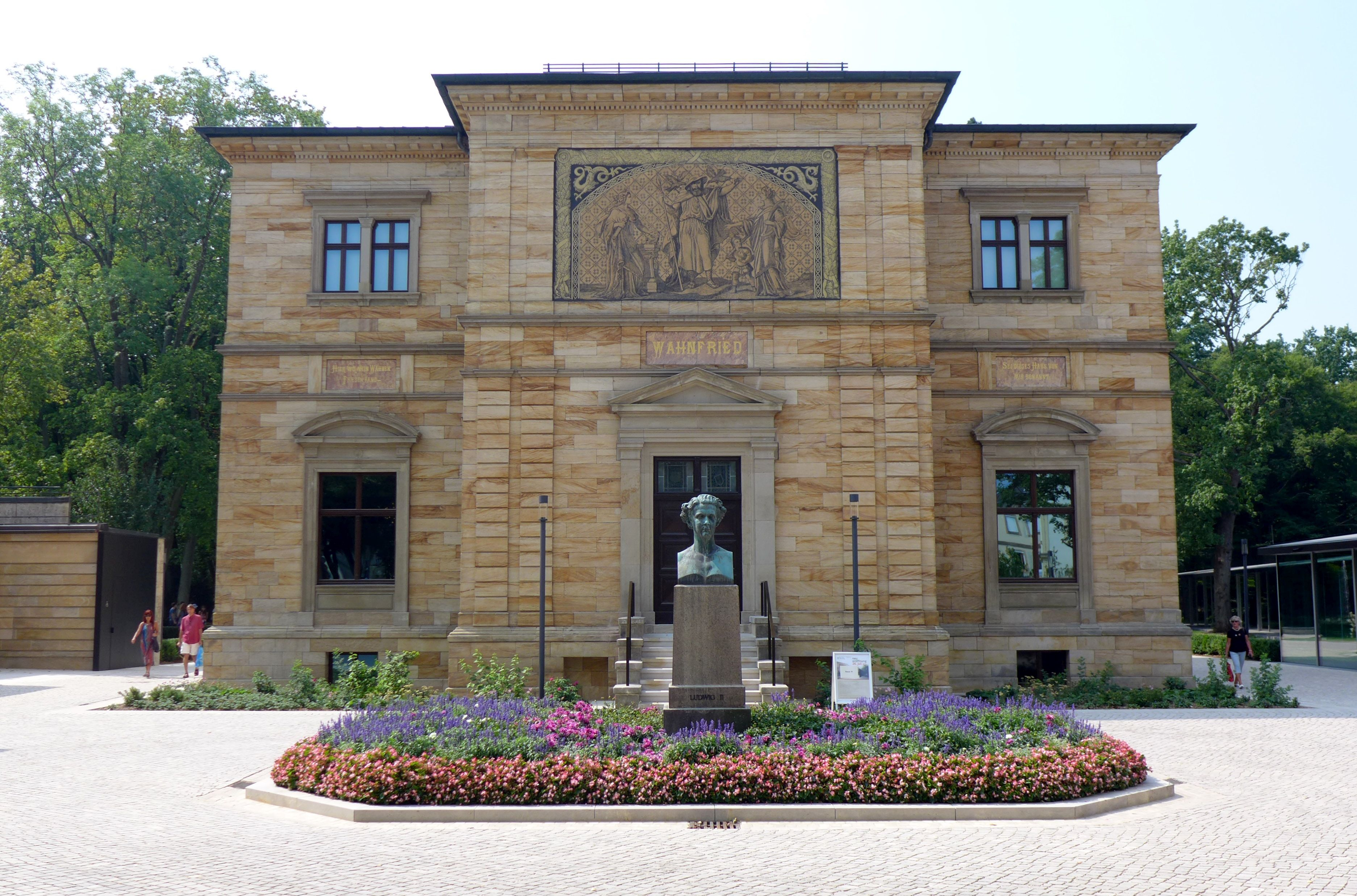 Vila Richarda Wagnera, dnes muzeum. Foto: Petr Feyfar